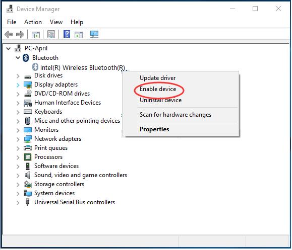 Windows 10 Bluetooth Missing – Earth's Lab